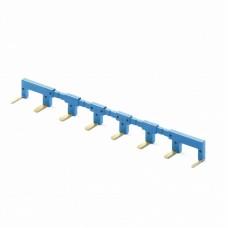 02218, 8-полюсный шинный соединитель синий
