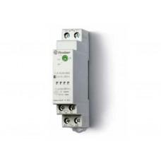Фотореле модульное с фотоэлементом 011.02; монтаж на рейку 35мм; 1NO 16A; питание 24В АC-DC; настройка чувствит. 1…100люкс; ширина 17.5мм; степень защиты: фотореле IP20, фотоэлемент IP54; упаковка 5 шт.