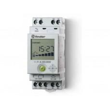 Фотореле модульное с фотоэлементом 011.02; цифровое реле времени; монтаж на рейку 35мм; 1СO 16A + 1доп.выход (для 19.91); питание 230В АC; настройка чувствит. 1…150люкс; ширина 35мм; степень защиты: фотореле IP20, фотоэлемент IP54; упаковка 5 шт.