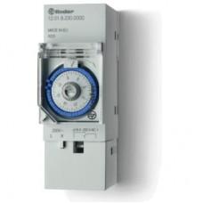 Реле времени механическое суточное; монтаж на рейку 35мм; 1СO 16A; питание 230В АC; ширина 35.8мм; степень защиты IP20; упаковка 5 шт.