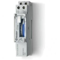 Реле времени механическое суточное; монтаж на рейку 35мм; 1NO 16A; питание 230В АC; ширина 17.6мм; резервн.источник питания; степень защиты IP20; упаковка 5 шт.
