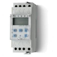 122282300000PAS, Реле времени цифровое недельное; монтаж на рейку 35мм; 2СO 16A; питание 230В АC; ширина 35.8мм; степень защиты IP20; упаковка 1шт.