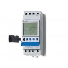 129282300000, Реле времени цифровое ASTRO; монтаж на рейку 35мм; 2СO 16A; питание 230В АC; ширина 35.8мм; степень защиты IP20