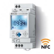 12A182300000, Реле времени цифровое недельное ASTRO; монтаж на рейку 35мм; 1СO 16A; питание 110…230B AC/DC; NFC; ширина 35мм; степень защиты IP20
