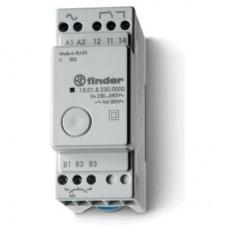 130100120000, Модульное электронные шаговое/моностабильное реле; 1NO 16A; питание 12В АC/DC; ширина 35мм; степень защиты IP20
