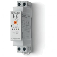 140182300000PAS, Модульный электронный лестничный таймер мультифункциональный; 1NO 16A; 3- или 4-проводная схема; питание 230В АC; ширина 17.5мм; степень защиты IP20; упаковка 1шт.