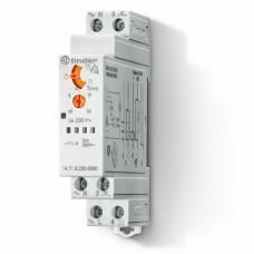 147182300000, Модульный электронный лестничный таймер 1-функциональный; 1NO 16A; 3- или 4-проводная схема; питание 230В АC; ширина 17.5мм; степень защиты IP20