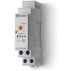 148182300000, Модульный электронный лестничный таймер 1-функциональный; 1NO 16A; 3- или 4-проводная схема; питание 230В АC; ширина 17.5мм; степень защиты IP20