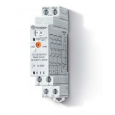 151082300010, Модульный ведущий электронный диммер (Master); 4 функции; сигнал 0-10В; подключение до 32 ведомых диммеров (Slave); управление до 15 кнопок с подсветкой; питание 230В АC (50Гц); степень защиты IP20