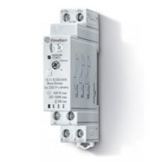 151182300400, Модульный ведомый электронный диммер (Slave); управление сигналом 0-10В от ведущего диммера (Master); разные типы ламп, до 400Вт; питание 230В АC (50Гц); степень защиты IP20