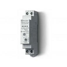 Модульный электронный диммер для люминесцентных и светодиодных ламп; 500Вт; плавное диммирование; питание 230В АC; ширина 17.5мм; степень защиты IP20; упаковка 5 шт.