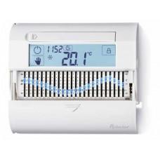 Комнатный цифровой термостат 'Touch slide' с суточным таймером; сенсорный экран; питание 3В DС; 1СО 5А; монтаж на стену; цвет антрацит; упаковка 1шт.; упаковка 1 шт.