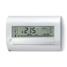 Комнатный цифровой термостат с недельным таймером Touch Basic; сенсорный экран; питание 3В DС; 1СО 5А; монтаж на стену; цвет белый ; упаковка 5 шт.