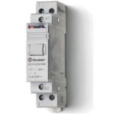202180084000PAS, Модульное электромеханическое шаговое реле; 1NO 16А, 2 состояния; контакты AgSnO2; питание 8В АC; ширина 17.5мм; степень защиты IP20; упаковка 1шт.