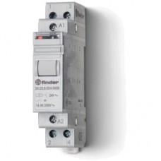 202890124000PAS, Модульное электромеханическое шаговое реле; 2NO 16А, 4 состояния; контакты AgSnO2; питание 12В DC; ширина 17.5мм; степень защиты IP20; упаковка 1шт.