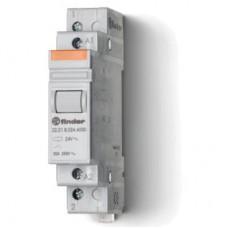 222180084000, Модульный контактор; 1NO 20А; контакты AgSnO2; катушка 8В АС; ширина 17.5мм; степень защиты IP20; опции: нет