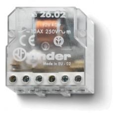 260281100000, Шаговое электромеханическое реле; 2NO 10А, 2 состояния; контакты AgNi; питание 110В АC; монтаж в коробке; степень защиты IP20
