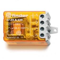 270681100000, Шаговое электромеханическое реле; 2NO 10А, 3 состояния; контакты AgNi; питание 110В АC; монтаж в коробке; фланец; степень защиты IP20