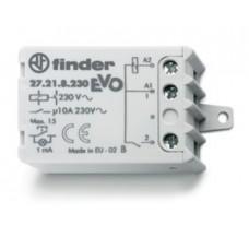 272682300000, Шаговое электромеханическое реле EVO; 2NO 10А, 3 состояния; контакты AgNi; питание 230В АC; монтаж в коробке; фланец; степень защиты IP20