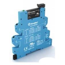 390001259024, Интерфейсный модуль (сборка 34.81.7.060.9024 + 93.60.0.125), твердотельное реле, серия MasterBASIC; выход 6A (24В DC); питание 125В AC/DC; категория защиты IP20; безвинтовые клеммы Push-in