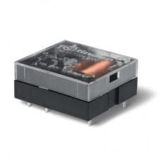 401170122300, Миниатюрное универсальное электромеханическое реле; монтаж на печатную плату; плоские; выводы с шагом 3.5мм; 1NO 10A; контакты AgCdO; катушка 12В DC (чувствит.); степень защиты RTI