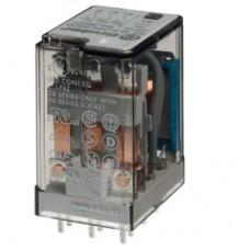 551390125000, Миниатюрное универсальное электромеханическое реле; монтаж на печатную плату; 3CO 10A; контакты AgNi+Au; катушка 12В DC; степень защиты RTI; опции: нет
