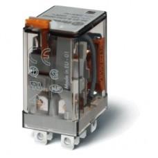 563280060000, Миниатюрное силовое электромеханическое реле; монтаж в розетку или наконечники Faston (4.8х0.5мм); 2CO 12A; контакты AgNi; катушка 6В АC; степень защиты RTI; опции: нет