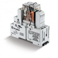 Интерфейсный модуль, электромеханическое реле; 2CO 10A; контакты AgNi; питание 120В AC; ATEX; категория защиты IP20; винтовые клеммы; металлическая клипса; LED; упаковка 10 шт.