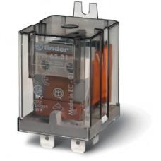Силовое электромеханическое реле; монтаж в наконечники Faston 250 (6.3x0.8мм); 1NO+1NC 20A; контакты AgCdO; катушка 6В AC; степень защиты RTI; монтажный фланец; опции: нет; упаковка 10 шт.