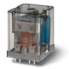 656180060300, Силовое электромеханическое реле; монтаж на печатную плату, раздвоенные выводы; 1NO 30A; контакты AgCdO (зазор ≥ 3мм); катушка 6В AC; степень защиты RTI; опции: нет