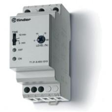 713184001010, Контрольное реле для 3-фазных сетей; пониженное/повышенное напряжение; настраиваемые симметричные диапазоны; выход 1CO 10А; модульное, ширина 35мм; степень защиты IP20