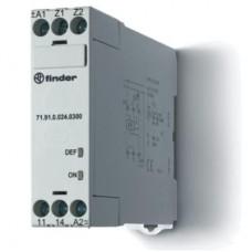 719100240300, Термисторное реле (PTC); без памяти отказов; питание 24В АС/DC; выход 1NO 10A; ширина 22.5мм; степень защиты IP20