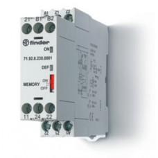 719200240001, Термисторное реле (PTC); память отказов; питание 24В АС/DC; выход 2СO 10A; ширина 22.5мм; степень защиты IP20