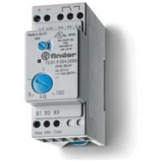 720182405002PAS, Реле контроля уровня; настраиваемый диапазон чувствительности 5…450кОм; питание 240В AC; выход 1CO 16А; контакты AgNi+Au; модульное, ширина 35мм; степень защиты IP20; упаковка 1шт.