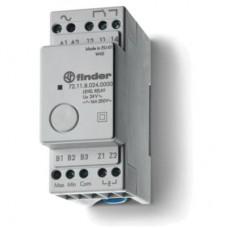 721180240000, Реле контроля уровня; фиксированный диапазон чувствительности 150кОм; питание 24В AC; выход 1CO 16А; модульное, ширина 35мм; степень защиты IP20