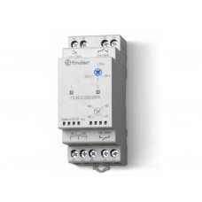 724200240000, Реле выбора приоритета; питание 24В AC/DC; выход 2NO 12А; модульное, ширина 35мм; степень защиты IP20