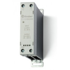771182308250, Модульное твердотельное реле; выход 15А (24…280В АС); питание 230В AC; Функция 'Включ.при пересечении нуля'; ширина 22.5мм; клем.реле; степень защиты IP20
