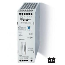 781D12302415PAS, Импульсный источник питания; вход 110...250В AC/DC; выход 24В DC, 130Вт; Компенсация реактивной мощности; ширина 30мм; степень защиты IP20; опции: контакт Предтревога;  упаковка 1шт.