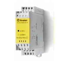 7S1282305110, Модульное электромеханическое реле безопасности (реле с принудительным управлением контактами); 1NO+1NC 6A; контакты AgNi+Au; катушка 230В AC; ширина 22.5мм; степень защиты IP54