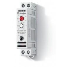 7T5102304360, Щитовой термостат-гигростат; 1NO 10A; модульный, ширина 17.5мм; степень защиты IP20