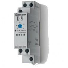 804102400000, Модульный таймер 1-функциональный (ВЕ); питание 24…240В АС/DC; 1CO 16A; ширина 17.5мм; регулировка времени 0.1с…24ч; степень защиты IP20