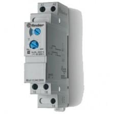 806102400000T, Модульный таймер 1-функциональный (ВI); питание 24…240В АС/DC; 1CO 8A; ширина 17.5мм; регулировка времени 0.05с…180c; степень защиты IP20; версия для ЖД-транспорта