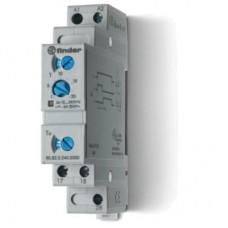 808202400000, Модульный таймер 1-функциональный (SD); питание 24…240В АС/DC; 2NO 6A; ширина 17.5мм; регулировка времени 0.1с…20мин; степень защиты IP20