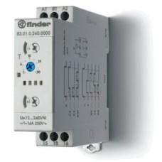 Модульный таймер мультифункциональный (AI, DI, SW, BE, CE, DE, WD); питание 24…240В АС-DC; 1CO 16A; ширина 22.5мм; регулировка времени 0.05с…10дней; степень защиты IP20; упаковка 5 шт.