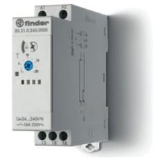 Модульный таймер 1-функциональный (DI); питание 24…240В АС-DC; 1CO 16A; ширина 22.5мм; регулировка времени 0.05с…10дней; степень защиты IP20; упаковка 5 шт.