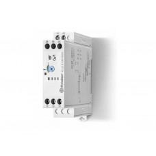 Модульный таймер 1-функциональный (BI); питание 24…240В АС-DC; 2CO 8A; ширина 22.5мм; регулировка времени 0.05с…180c; степень защиты IP20; упаковка 5 шт.