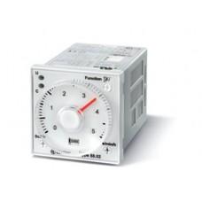 Таймер мультифункциональный (AI, DI, GI, SW, BE, CE, DE), функции SET, RESET; монтаж на панель или в розетку; 11-штырьковый разъем; питание 24…230В АС-DC; 2CO 8A; регулировка времени 0.05с…100ч; степень защиты IP40; упаковка 5 шт.