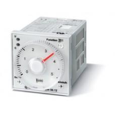 Таймер мультифункциональный (AI a, AI b, DI a, DI b, GI, SW); монтаж на панель или в розетку; 8-штырьковый разъем; питание 24…230В АС-DC; 2CO 5A; регулировка времени 0.05с…100ч; степень защиты IP40; упаковка 5 шт.