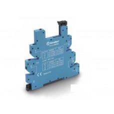 93610125, Розетка MasterBASIC с винтовыми клеммами (с зажимной клетью) для реле 34 серии; питание 110-125В АС/DC; в комплекте пластиковая клипса; опции: LED