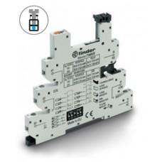 93680024, Розетка, серия MasterTimer с винтовыми клеммами (с зажимной клетью) для реле 34 серии; встроенный таймер мультифункциональный (AI, DI, GI, SW, BE, CE, DE, EE); регулировка времени 0.1с…6ч; питание 24В AC/DC; в комплекте пластиковая клипса; опции: LED